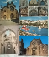 5 CART. PUGLIA   (74) - Cartoline