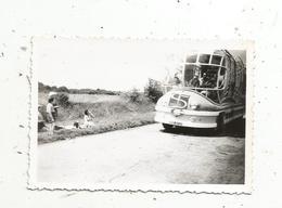 Photographie , Automobile , Bus , Car,  90 X 60 Mm - Cars