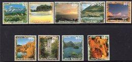 NEW ZEALAND, 1996 SCENIC DEFINS 9 MNH - New Zealand