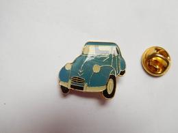 Beau Pin's , Auto Citroën 2CV , 2 CH Bleue - Citroën