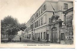 69 - VILLEFRANCHE SUR SAONE - La Sous Préfecture (Petite Animation) - Villefranche-sur-Saone