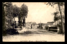55 - SAUVIGNY - ENTREE DU VILLAGE - SANS EDITEUR - Autres Communes
