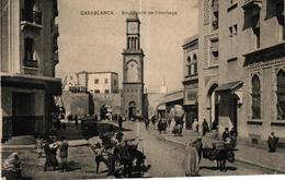 MAROC - CASABLANCA - BOULEVARD DE L'HORLOGE - Casablanca
