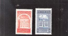 Suisse - Cinquentenaire De L'UPU - 1924 - Série Complète - XX/MNH - UPU (Union Postale Universelle)