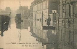 PARIS LES INONDATIONS 1910 LA RUE JEAN NICOT - De Overstroming Van 1910
