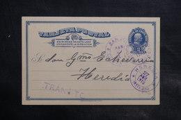 COSTA RICA - Entier Postal En 1913 Pour Heredia - L 34909 - Costa Rica