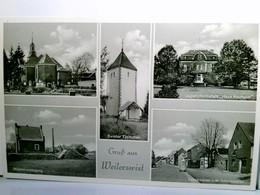 Gruß Aus Weilerswist. Seltene, Alte Mehrbild AK S/w. Kirche, Wasserversorgung, Swister Türmchen, Jugendheimsta - Deutschland