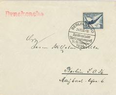 1936 Olympische Spiele Kontinentaler Reklamekongress Berlin NW Drucksache Turmspringen - Covers & Documents