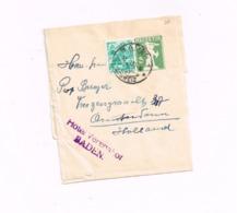 Bande Pour Journaux à 5 Centimes.Expédié De Baden à Amsterdam (Hollande) - Entiers Postaux