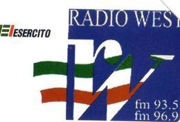 USATA- 1849-TELECOM ITALIA-ESERCITO -RADIO WEST - Italia