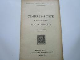 TIMBRES-POSTE, ENVELOPPES Et CARTES-POSTE Parus En 1910 (36 Pages) - Otros