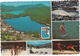 Lake Placid, New York - 1980 Winter Olympic: Speed Skating Oval, Cross Country Ski Race Start, Figure Skating, Ski Racer - Adirondack