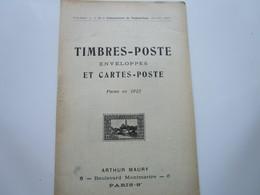 TIMBRES-POSTE, ENVELOPPES Et CARTES-POSTE Parus En 1912 (32 Pages) - Otros