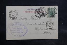 BRÉSIL - Affranchissement De Porto Alegre Sur Carte Postale Pour La France En 1902 - L 34925 - Entiers Postaux