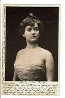 """CPA - Carte Postale-Belgique - Photograhie D'une Jeune Dame """"Blanc""""-1901-VM4629 - Photographie"""
