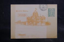 BRÉSIL - Entier Postal De L' Exposition Pan Américano - L 34926 - Postwaardestukken