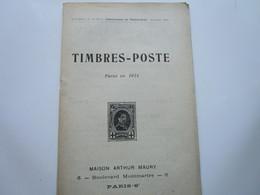 TIMBRES-POSTE Parus En 1914 (36 Pages) - Otros