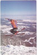 Ski Jump - Le Fleuve St-Laurent Du Sommet Du Mont-Sainte-Anne - St. Lawrence River From Summit - Ste. Anne De Beaupré