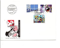 SUISSE FDC 1992 TIMBRES SPECIAUX BD - FDC