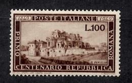 Italie YT N° 537 Neuf ** MNH. TB. A Saisir! - 6. 1946-.. Repubblica