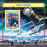 Sierra  Leone  2016  Space Tourism - Sierra Leone (1961-...)