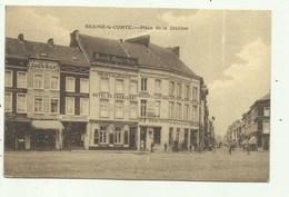 Braine-le-Comte-  Place De La Station - Cafe's- Zoeq-Bier - Verzonden - Braine-le-Comte