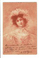 CPA - Carte Postale-Belgique - Photographie : Buste D'une Jeune Femme-1901-VM4633 - Fotografia