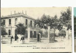 Gard , Nismes , Entrée De La Caserne D'artillerie - Nîmes