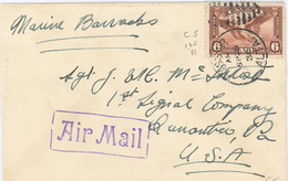 Alberta (Alta) Luftpost Air Mail 1936 - 1911-1935 Règne De George V