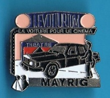 PIN'S //  ** LE VOITURIUM / LA VOITURE POUR LE CINEMA / MAYRIG ** - Films
