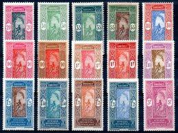 DAHOMEY - YT N° 85 à 98 - Neufs * - MH - Cote: 43,00 € - Dahomey (1899-1944)