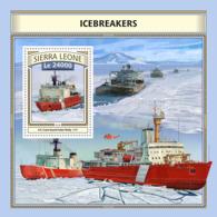 Sierra  Leone  2016  Icebreakers - Sierra Leone (1961-...)