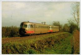 ITALY   SAVIGLIANO-SALUZZO       TREIN-TRAIN-TRENI-ZUG- STATION-BAHNHOF-GARE-STAZIONE    (NUOVA) - Treni