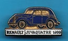 1 PIN'S //  ** RENAULT / JUVAQUATRE / 1930 ** . (CEF) - Renault