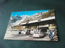 DOGANA CONFINE COURMAYEUR  IMBOCCO TUNNEL DEL M. BIANCO  AOSTA AUTO CAR - Dogana