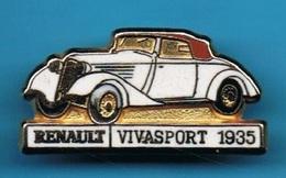 1 PIN'S //  ** RENAULT / VIVASPORT / 1935 ** . (CEF) - Renault