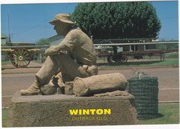 Winton (Outback Qld.) - A.B.  'Banjo' Paterson Wrote 'Waltzing Matilda' In 1895 - Municipal Memorial Swimming Pool - Australië