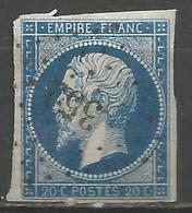 FRANCE - Oblitération Petits Chiffres LP 352 BELLEGARDE-EN-MARCHE (Creuse) - Marcofilie (losse Zegels)