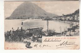 Suisse - Lugano - Quai - Monte St. Salvatore - TI Tessin