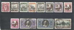 Vaticano. 1933. Lote De 12 Sellos. - Sellos