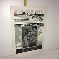 WEG UND ZIEL Folge 45 : WEIHNACHT 1941 Clemens Müller - Urania Veritas - IIIe Reich 39-45 WW2 Guerre - YY-14124 - Revues & Journaux