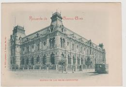 Buenos Aires (ARG) , Edificio De Las Aguas Corrientes, Edita Da Libreria Meyer N.512  - F.p - Primi Anni '1900 - Argentina