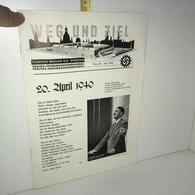 WEG UND ZIEL Folge 35 : April 1940 Clemens Müller - Urania Veritas - IIIe Reich 39-45 WW2 Guerre - YY-14125 - Zeitungen & Zeitschriften