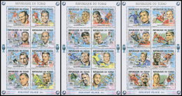 CHAD 2016 MNH** Football European Championship UEFA M/S - OFFICIAL ISSUE - DH1819 - Championnat D'Europe (UEFA)