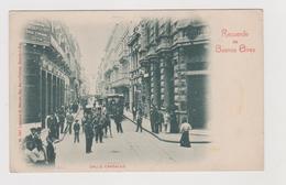 Buenos Aires (ARG) , Calle Cangallo, Edita Da Libreria Meyer N.561  - F.p - Primi Anni '1900 - Argentina