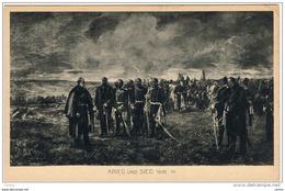 KRIEG  UND  SIEG (1870/71):  WANDGEMALDE  -  KLEINFORMAT - Andere Kriege