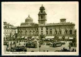 PARMA - Piazza Garibaldi  - Cartolina Viaggiata, Come Da Scansione. - Parma