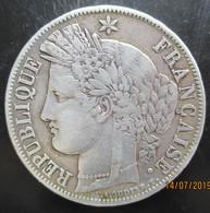5 Francs Cérès, IIe République 1851 A, TTB+ - J. 5 Francs