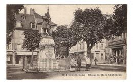 25 DOUBS - MONTBELIARD Statue Denfert-Rochereau - Montbéliard