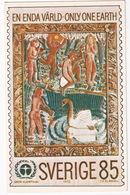 'En Enda Värld - Only One Earth' - 1972 -   Sverige/Sweden - 0.85 Kr. - Postzegels (afbeeldingen)